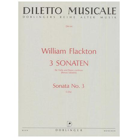 Flackton, W.: Violasonate 3 G-Dur
