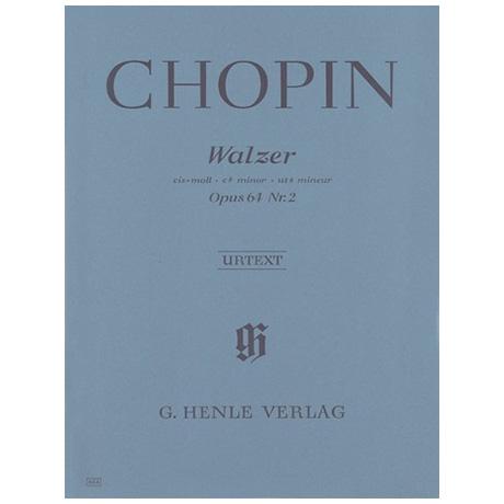 Chopin, F.: Walzer cis-Moll Op. 64,2