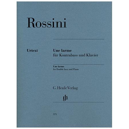 Rossini, G.: Une larme