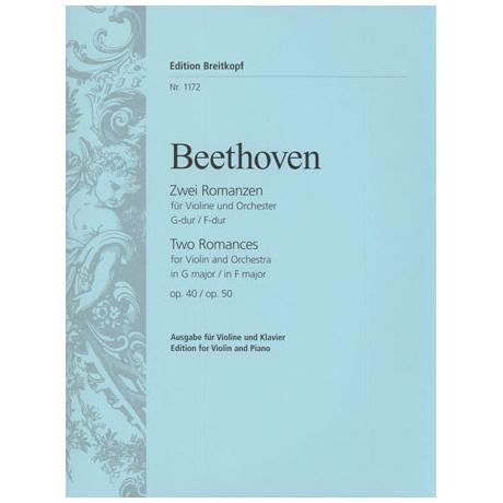 Beethoven, L. v.: 2 Romanzen Op. 40 und Op. 50