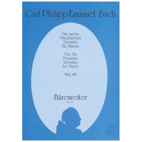 Bach, C. Ph. E.: Die sechs Preußischen Sonaten Wq 48