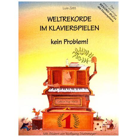 Zett: Weltrekorde im Klavierspielen