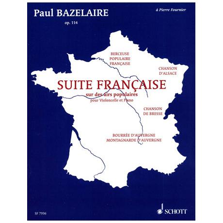 Bazelaire, P.: Suite française Op.114
