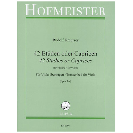 Kreutzer, R.: 42 Etüden oder Capricen