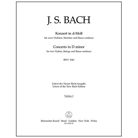 Bach, J. S.: Doppelkonzert BWV 1043 d-Moll – Stimmen