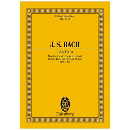 Bach, J. S.: Kantate BWV 62 »Adventus Christi«