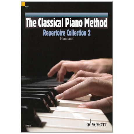 Heumann, H.-G.: The Classical Piano Method – Repertoire Collection Band 2 (+CD)