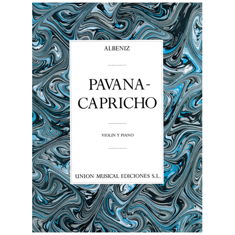 Albéniz, I.: Pavana – Capricho