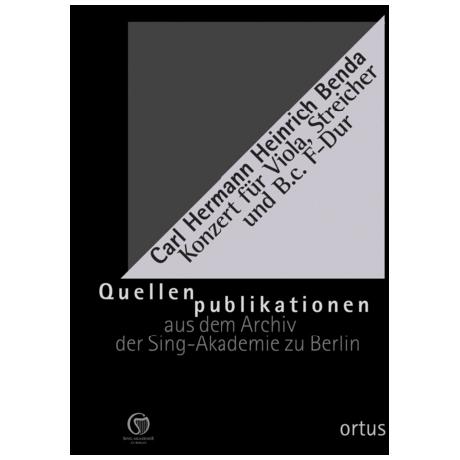 Benda, K. H. H.: Konzert F-Dur