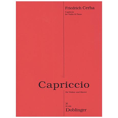 Cerha, F.: Capriccio