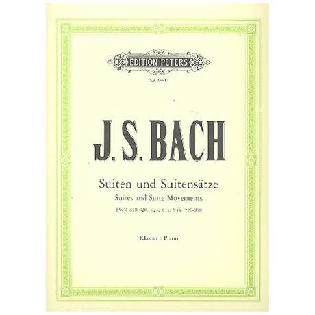 Bach, J. S.: Einzelne Suiten und Suitensätze