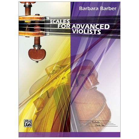 Barber, B.: Scales for Advanced Violists