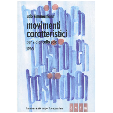 Zimmermann, U.: Movimenti caratteristici