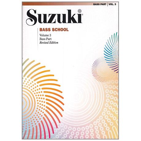Suzuki Bass School Vol.3