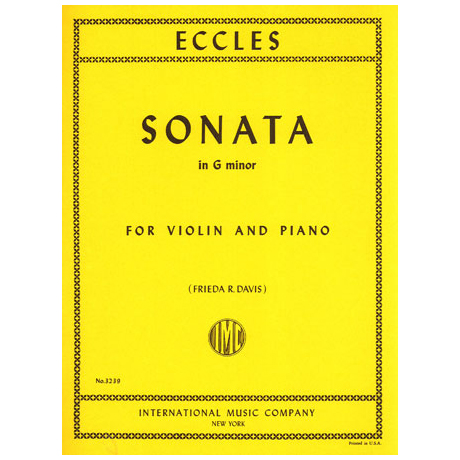 Eccles: Sonate in g-moll