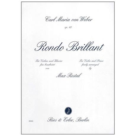 Weber, C. M. v.: Rondo Brillant Op. 62