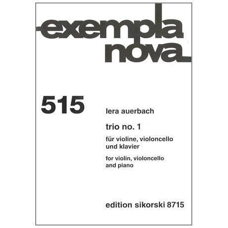 Auerbach, L.: Trio Nr. 1