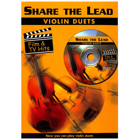 Share The Lead Violin Duets Film & Tv Hits (+CD)