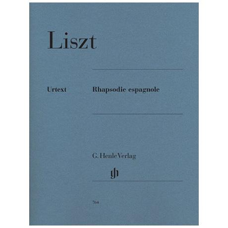 Liszt, F.: Rhapsodie espagnole