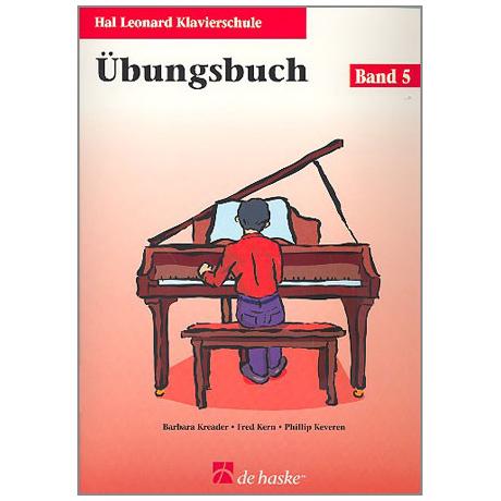 Kreader, B: Hal Leonard Klavierschule Band 5 (+CD)