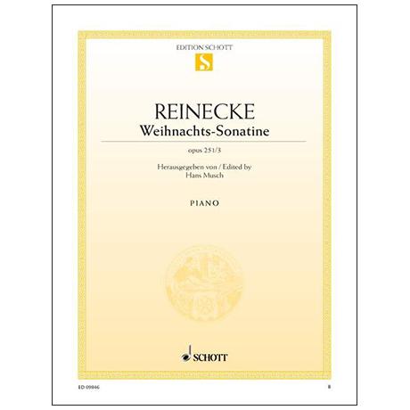 Reinecke C. H. C.: Weihnachts-Sonatine, op. 251/3