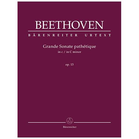 Beethoven, L. v.: Grande Sonate pathétique Op. 13 c-Moll