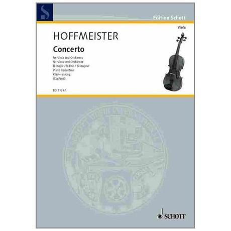 Hoffmeister, F. A.: Violakonzert B-Dur