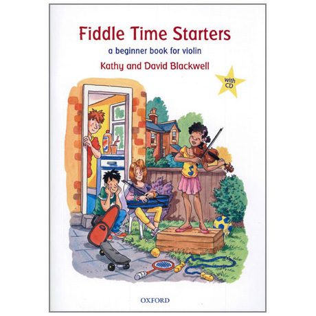 Blackwell: Fiddle Time Starters (+CD)