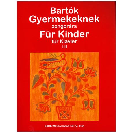 Bartók: Für Kinder – Band 1 & 2