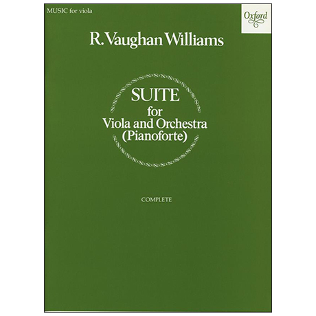 Vaughan Williams, R.: Viola-Suite