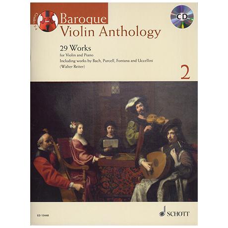 Baroque Violin Anthology Band 2 (+CD)