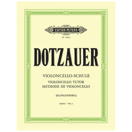 Dotzauer, F.: Violoncelloschule Band 1