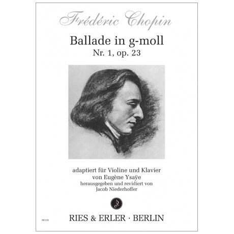 Chopin, F.: Ballade Nr. 1 Op. 23 g-Moll