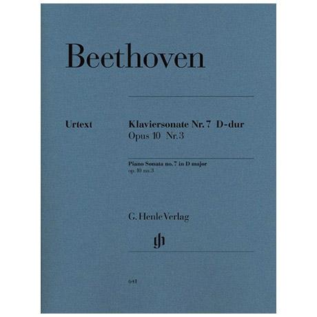 Beethoven, L. v.: Klaviersonate Nr. 7 D-Dur Op. 10,3