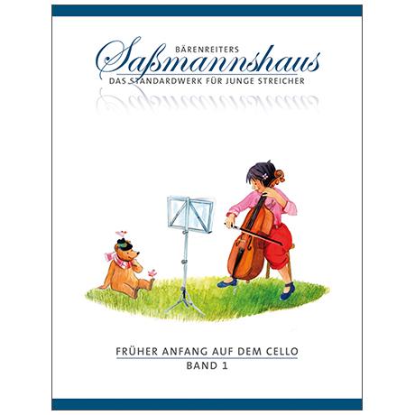 Sassmannshaus: Früher Anfang auf dem Cello Band 1