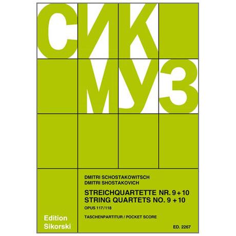 Schostakowitsch, D.: Streichquartette Nr. 9 und 10