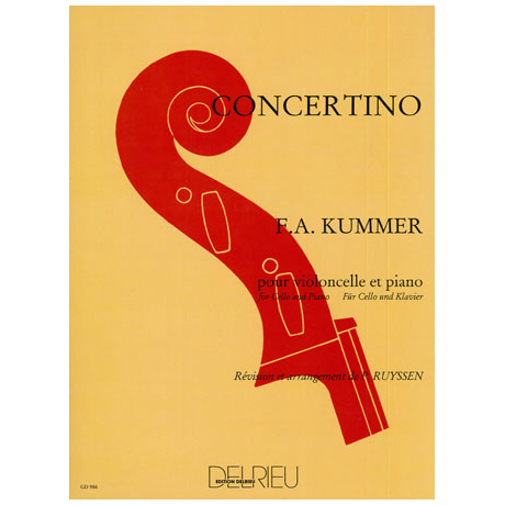 Kummer, F.A.: Concertino C-Dur