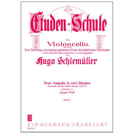 Schlemüller, H.: Etüden Schule Band 2