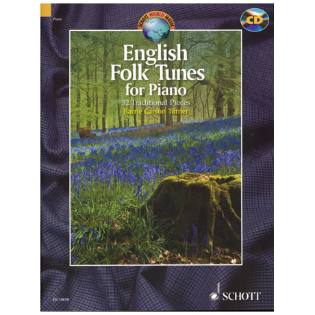 English Folk Tunes for Piano (+CD)