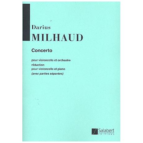 Milhaud, D.: Violoncellokonzert