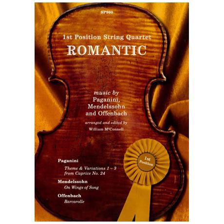 1st Position String Quartet - Romantic