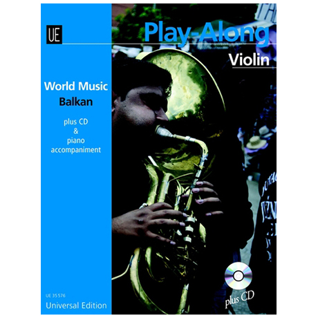 Mamudov, H.: Balkan Playalong Violin (+CD)