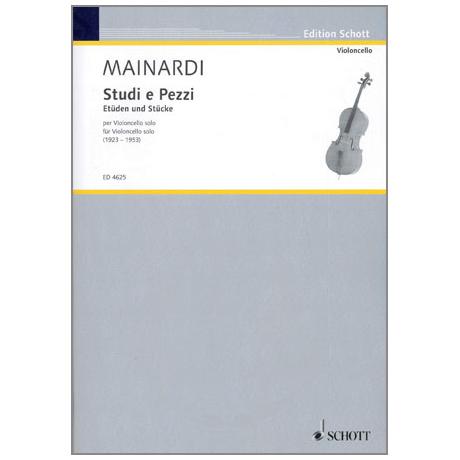 Mainardi, E.: Violoncello - Etüden und Stücke aus den Jahren 1923-53