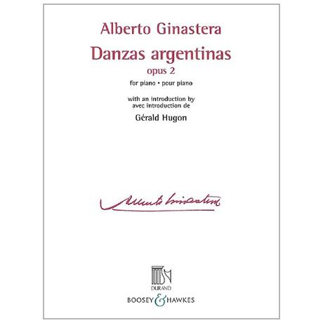 Ginastera, A.: Danzas argentinas Op. 2