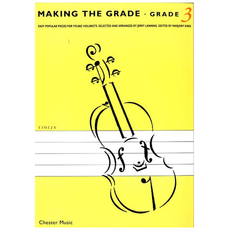 Making The Grade: Grade Three (Violin)