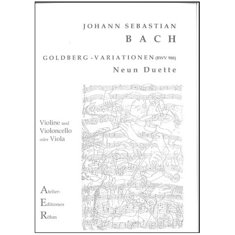 Bach, J. S.: Aria und 9 Variationen (Goldberg-Variationen)