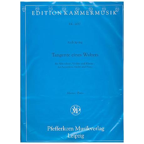 Spring, R.: Tangente eines Walzers Op. 65b