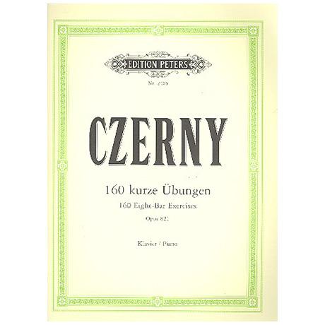 Czerny, C.: 160 achttaktige Übungen Op. 821