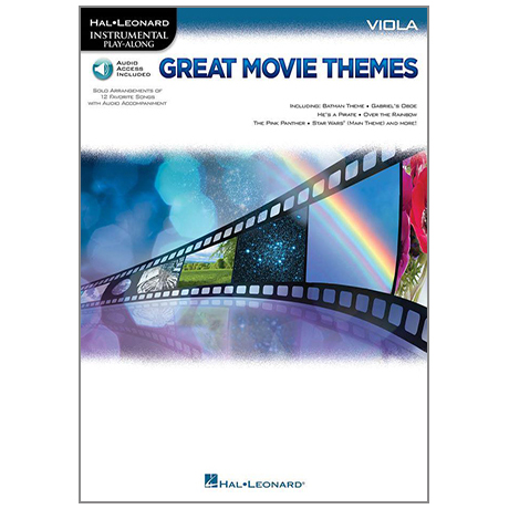 Great Movie Themes for Viola (+Online Audio)