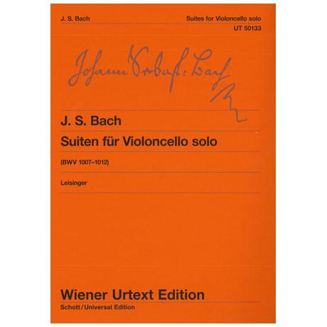 Bach, J.S.: Suiten BWV 1007-1012